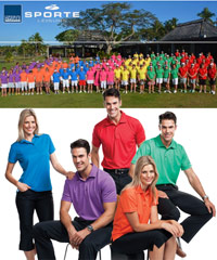 Sporte Leisure #AERO Polo with Logo Service at Corporate Profile Clothing FreeCall 1800 654 990