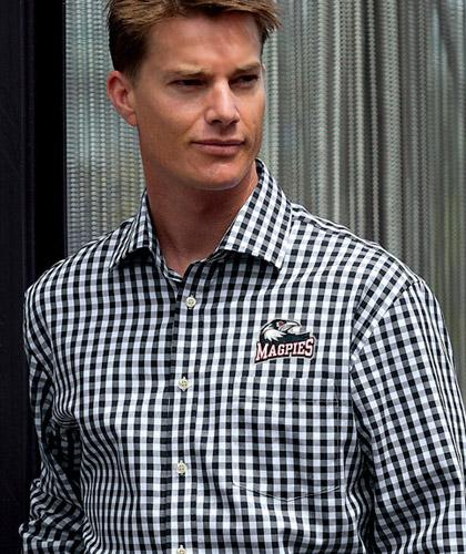 Black And White Check Shirts