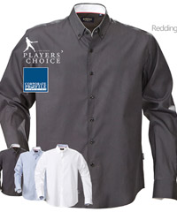 Charcoal Shirt for Corporate and Club teamwear requirements, high performance oxford cotton looks upscale and fabulous to wear, office or week-ends, Blue, Charcoal and White, Mens and Ladies. Finished with sporty contrast ribbon inside the neck band. Material is 100 Percent Cotton Oxford with Easy Care treatment for less wrinkles after washing and easier to iron. Corporate Profile Enquiry FreeCall 1800 654 990