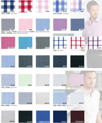 To discuss the range of Colours and Fabrics in the Gloweave range you can call Renee Kinnear or Shelley Morris, at Corporate Profile Clothing on FreeCall 1800 654 990. We can assist you with Logo Embroidery and Shirt Sample Services. Gloweave shirts are available in Plains, Checks, Stripes, and Dots. Fabrics are available in Cotton, Denim, End on End, Royal Oxford and Easy Care Poplin.