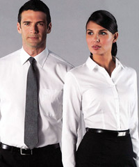 Van Heusen shirts for company uniforms