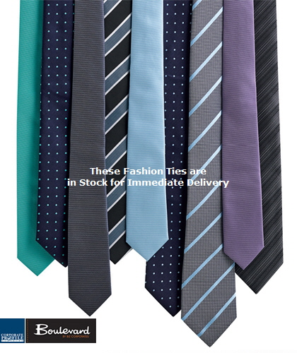 A range of 5 Mens Ties for Corporate Wear. Includes Contrast Stripe #99102 , Mens Slim Tie #99104, Mens Spot Tie #99100, Wide Contrast Striipe Tie #99102 and Mens Self Stripe Tie #99101. We also provide Custom Order Corporate Ties, Club Member Ties. For details the best idea is to call Renee Kinnear or Shelley Morris on FreeCall 1800 654 990