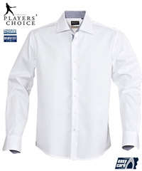 Crisp White Cotton Shirt # 2113030 Baltimore With Company Logo Service 200px