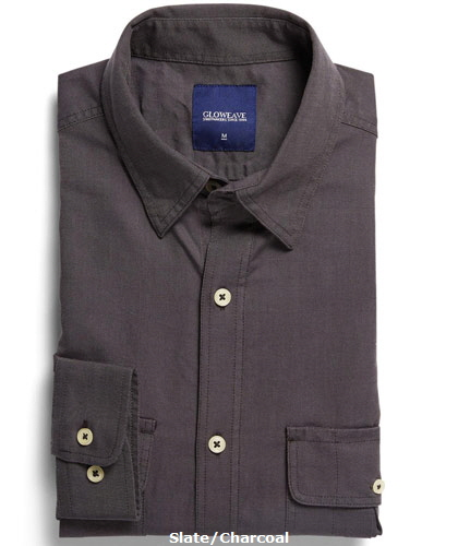 Oxford-Double-Pocket-Shirts-Colour-Slate-Charcoal