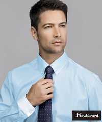 Premium shirts for corporate wear Blue