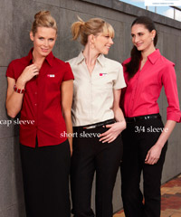 Womens Metro Shirts for Business Uniforms