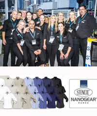 Nano Shirt Colour Card for #2026 #2016 and Womens #2126. Company logo embroidery service is available. Versatile shirt for Employee Uniforms, Trade Shows, Special Events etc. Mens Long and Short Sleeve, Womens 3/4 Sleeve.7 Colours. Breathable 55% Cotton 45% Nano Gear Fabric is Stain Repellant. A good choice for uniforms as the appearance is modern, sizing is easy fit with large range of sizes and the fabric is easy care, laundering and ironing. mens shirt has a button down collar system on the inside of the collar helping to keep the shirt looking good. Corporate Sales Free Call 1800 654 990.