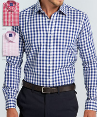 Oxford Check Shirts Uniform Industry, Corporate.com.au