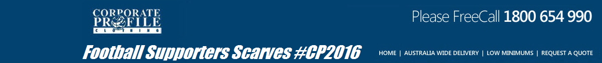 Football Supporters Scarves #CP2016