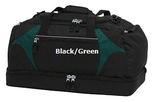 Top quality Black-Green Sports Bag #BGSB  for Australian Sports Clubs
