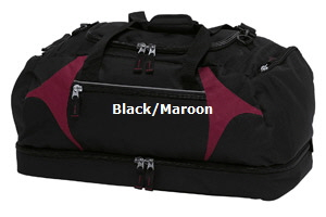 Top quality Black-Maroon Sports Bag #BMSB  for Australian Sports Clubs