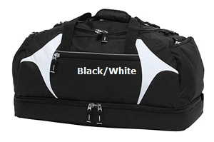Top quality Black-White Sports Bag #BWSB for Australian Sports Clubs