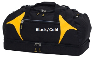 Top quality Black-Gold Sports Bag #BGSB for Australian Sports Clubs