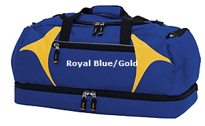 Top quality Royal Blue-Gold Sports Bag #RGSB for Australian Sports Clubs