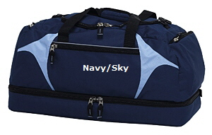 Top quality Navy Sky Sports Bag #NSSB for Australian Sports Clubs