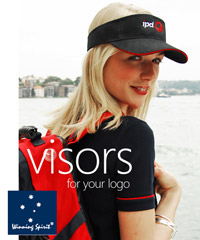 Visors for your logo, Corporate.com.au