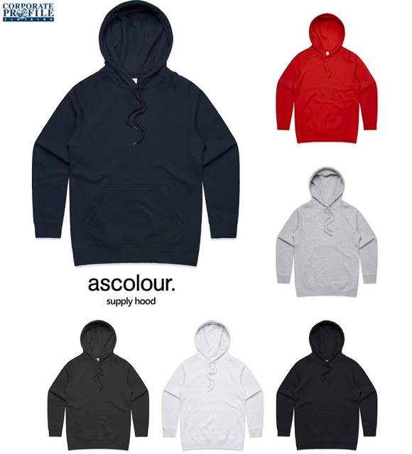 Supply Hoodie By AS Colour #4101 with Logo Service 580px