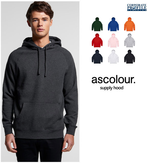 Mens Supply Hoodie #5101_by AS Colour With Logo Service 600px