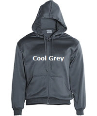 Hoodie-#CJ1062-Cool Grey with Logo Service
