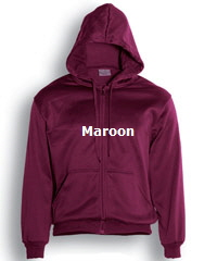 Hoodie-#CJ1062-Maroon with Logo Service