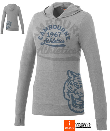 Howson Heather Hoody Men #18732 and Womens #98732 (Heather Grey) With Infusion Print. Notice the large print over the front of the hoody. Infusion print is exclusive to Elevate Corporate Apparel. Hoody colours include Heather Olympic Blue, Heather Dark Charcoal, Heather Grey and Black. Corporate Sales Free Call 1800 654 990