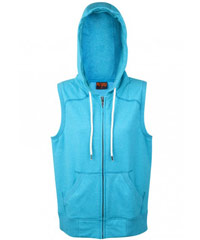 Sleeveless-Hoodie-#F770ZS-and-Ladies-#FZ77UM-Jade-Heather-Image-200px