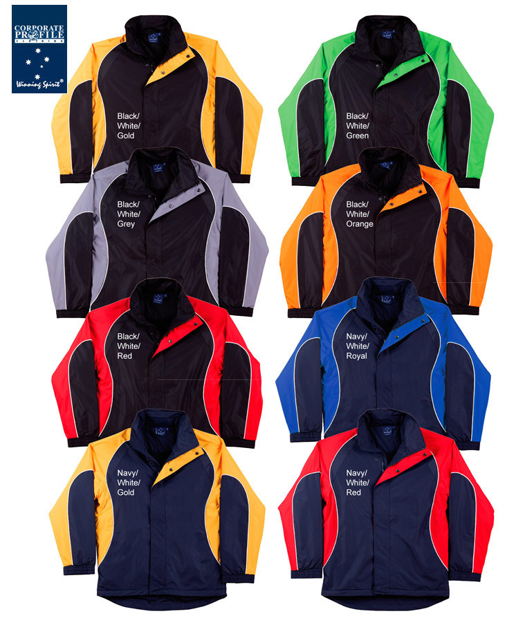 Inspect a Sample of these fantastic Winning Spirit Arena team jackets in popular club colours. Looking for good quality team jackets at a reasonable price? These jackets are  great value and will last for many seasons, For all the details please contact Leigh Gazzard on FreeCall 1800 654 990