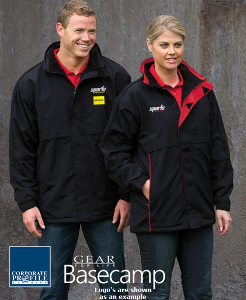 Basecamp Anorack Corporate Jacket #AN with logo embroidery service. The Basecamp Anorack
