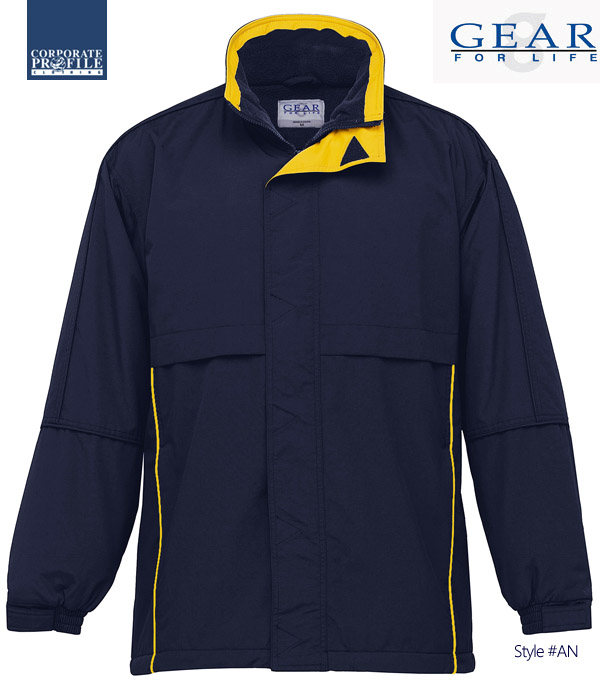 Outstanding Company or Sporting Club Jacket to keep you warm during cold Australian Winter #AN for uniforms or merchandise we can add your logo with embroidery or printed. Available in six team colours plus Solid Plain Navy or Black. Great Brands. Great Prices. Enquiries Call Free 1800 654 990.