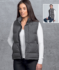 SMPLI Invert Puffa Vest #SIIPJ With Logo Service, Bringing you a retail look combining style and function. Inverta is 100% polyester Melange with TPU coating, water repellant rating 10,000mm. Colour Grey Melange. Sizes XXS-3XL, 5XL. Enquiries FreeCall 1800 654 990