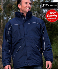 Looks fantastic with logo embroidery. Supermarket price for Waterproof Jacket to 6000mm rating, diamond quilted lining inside keeps you warm, yet lightweight. Sealed seams enhance water resistance. Available Black, Navy, Charcoal and Royal For all details FreeCall 1800 654 990.