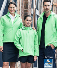 Green Softshell Jacket #1513_and Ladies #2513 With Logo Service 200px