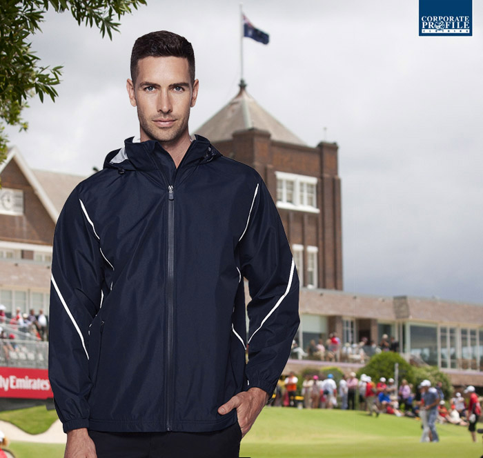 Premium Corporate Sports Golf Jacket #1524 With Logo Service 700px
