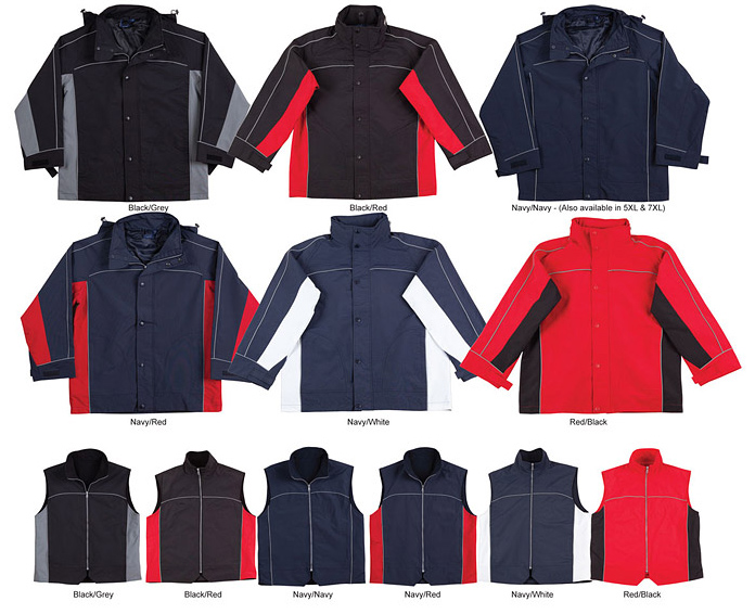 Teammate-3-in-1-Jacket-and-Vest-#JK18-Colour-Card-700px