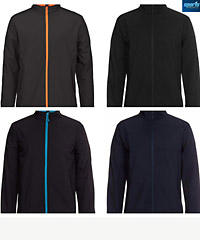 Best in Business for company uniforms #3WSJ Softshell With Logo Service available in 4 Plain Colours and 5 Company Colour combinations. There's a large range of Sizes for Men, Women and Kids.and Kids. 3 Layer Bonded fabric 245 gsm. Waterproof rating 10,000mm and breathability 800mm. Warm bonded micro fleece on the inside. Changeable zip pullers available for Company, School and Club presentation. Sales FreeCall 1800 654 990