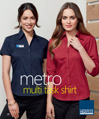 Ladies Metro-Shirts with Stretch