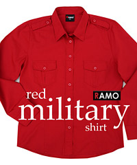 Military-Styled-Cotton-Shirt-Red-200px