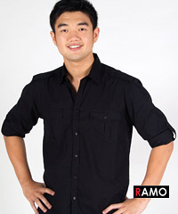 Military-Styled-Cotton-Shirts-Black-200px