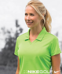 Nike polo shirts for your logo for Women s dri fit golf shirts