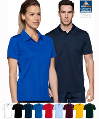 Botany-White-Polo-#1307-Low-Prices-With-Logo-Service