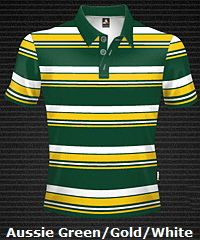 Green-Gold-White-Club-Stripe-Polo-Shirt-#8296