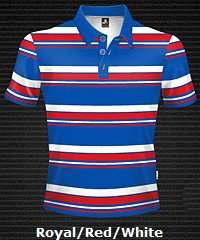 Royal-Red-White-Club-Stripe-Polo-Shirt-#8296