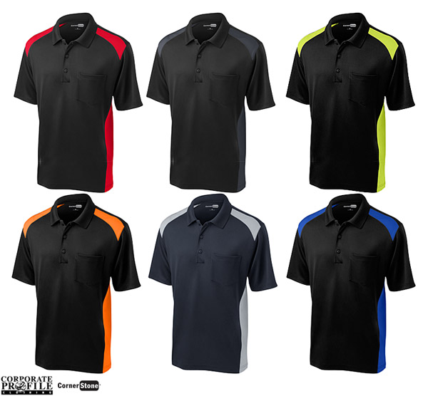 Cornerstone Pocket Polo Shirt #CS416 and other Cornerstone Workwear and Outerwear Clothing (Corporate Sales) is now available from Corporate Profile Clothing in Sydney on Call Free 1800 654 990