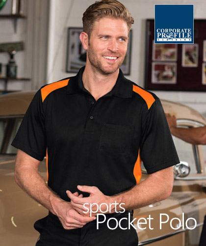 Hard to find, outstanding quality Sport Polo Shirt With Pocket #CS416 With Logo Service. Best selling item for Men who like to have a handy pocket for pen, phone, notebook, glasses etc. Can be printed or logo embroidery with Club emblem. Available in 6 team colours, comfortable sizings from XS-4XL. Snag proof. Wrinkle resistant. Long lasting durability for Company Workwear, smart casual business wear, staff uniforms, sporting club player outfits. Call Free 1800 654 990