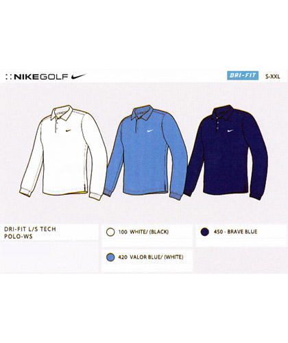 Nike-Golf-Long-Sleeve-Polo-Shirts-Colour-Card-420px