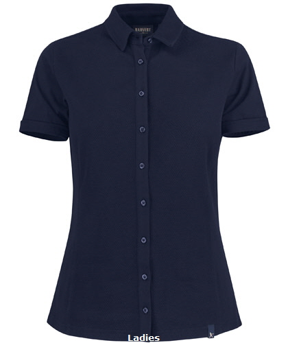 Corporate Polo Ladies #2125032  Navy With Logo Service