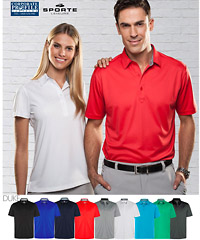 A superb Polo for Corporate Outfits #SPDUKE is available in vibrant colours Pop Red, Titanium, Cyan, Jelly Bean Green, Charcoal, French Navy, Electric Blue, Black, White and Charcoal. Features premium quality Sportec micro pique, so comfortable to wear and impressive presentation for company outfits and club uniforms. For all the details please contact Shelley Morris or Leigh Gazzard on FreeCall 1800 654 990.