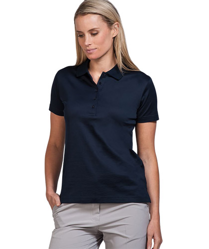 Mercerised Cotton Polo #SLC078S Womens With Logo Service