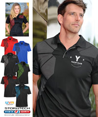Prism Premium Stormtech Polo #OPX-1 With Logo Service, available in 6 colour combinations. Mens and Ladies. Stormtech H2X-Dry Moisture Management. High quality logo emebroidery for Corporate, Business Uniforms, Events, Teamwear. Imported Service. Mens SM-3XL. Womens XS-2XL. Black/Red, Black/Graphite, Navy/Graphite, Marine Blue/Black, Red/Black, Black/Electric Blue. For all the details please call Renee Kinnear or Leigh Gazzard on FreeCall 1800 654 990.