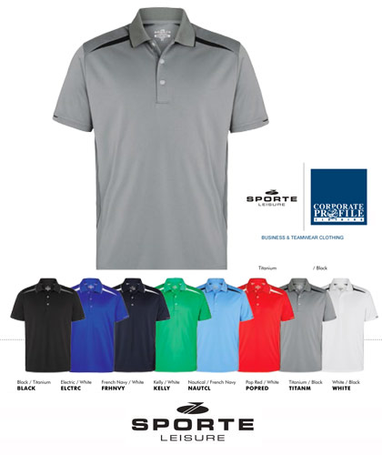 The Sporte Leisure Zone Polo has been launched at the APPA Convex Show in Sydney. The shirt is ideal for smart casual Company Uniforms, Corporate Promotions, Special Events, Sports Merchandising. For enquiry please call renee Matthews or Shelley Morris on FreeCall 1800 654 990.